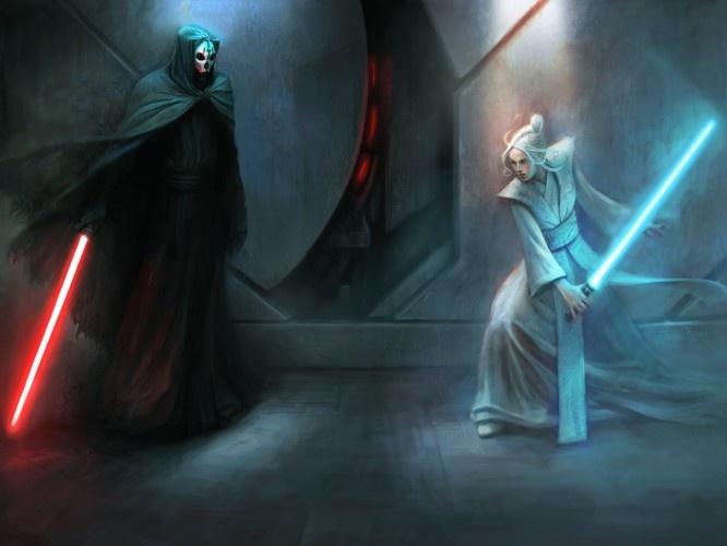 Jedi vs. Sith (Jedi night of the old republic)
