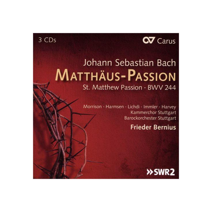 Frieder bernius - Bach:St matthew passion (CD)