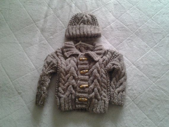 Check out this item in my Etsy shop https://www.etsy.com/uk/listing/205977010/lrish-boy-sweater-sweater-and-hat-age-3