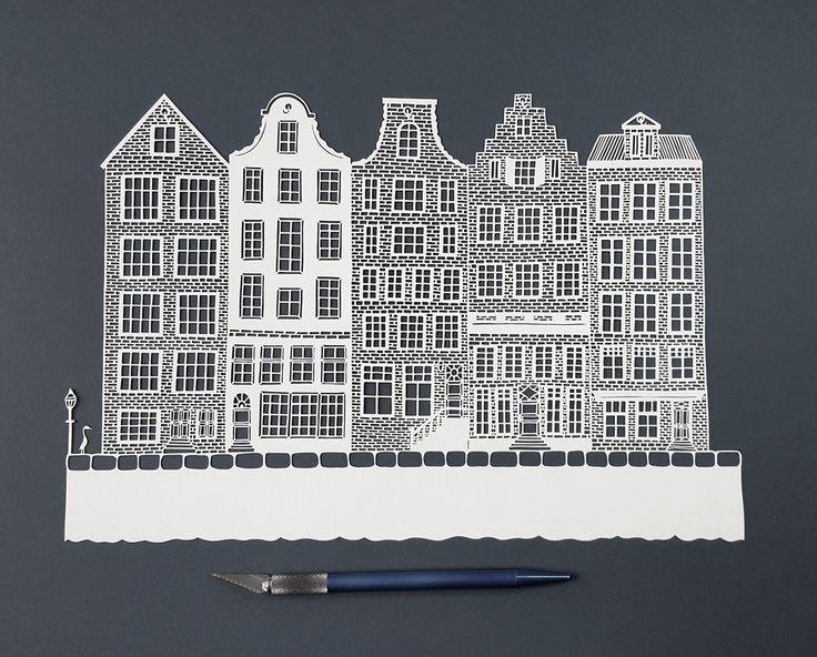 Paper cut by Pippa Dyrlaga