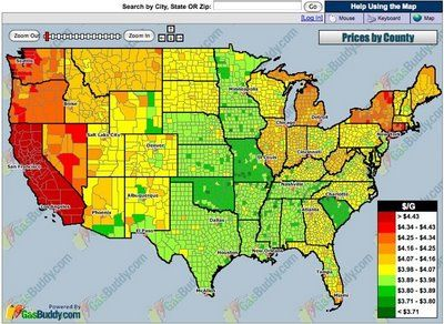 Map of Local GasPrices