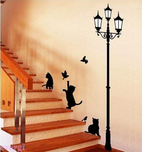 Bestchoice2go(TM) Lamp&Cat Bird Removable Wall Sticker Paper Art Deco For Drawing Room Home Workplace Dorm Or Store Bestchoice2go http://www.amazon.com/dp/B00IJVA5MU/ref=cm_sw_r_pi_dp_FoaXtb1FCS064SN4