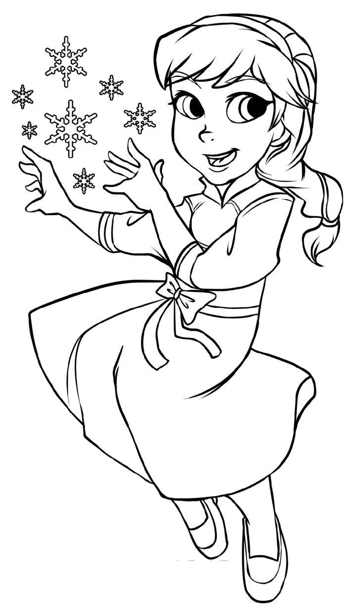 Pin on Elsa coloring pages
