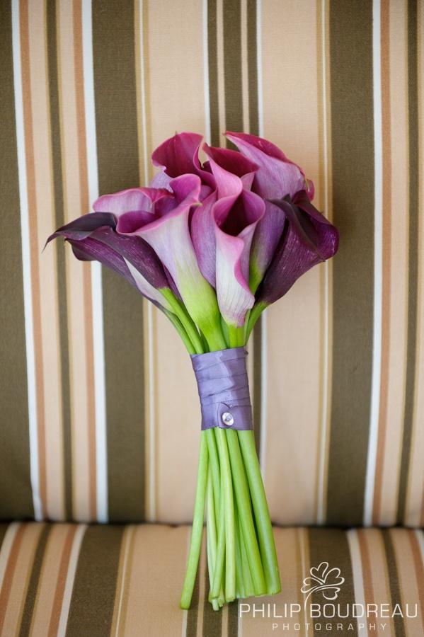 Purple Calla Bouquet