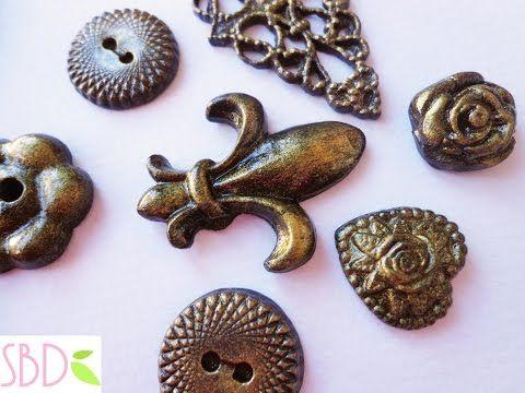Montaggio parure Collana+orecchini stile marino - ENG SUBS Marine style Set necklace+earrings - YouTube