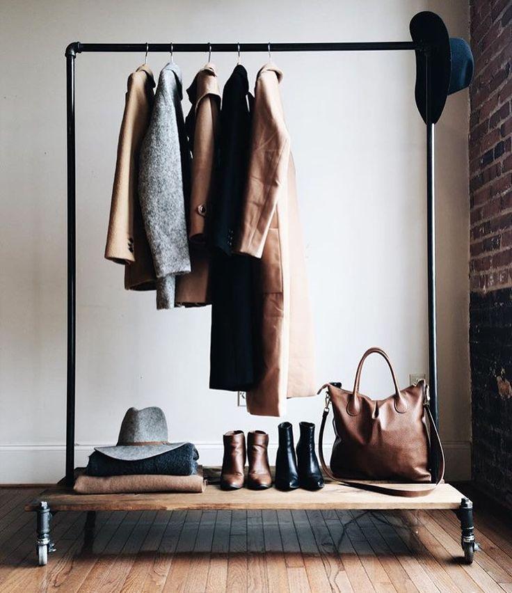 Best 25 Clothing Racks Ideas On Pinterest Clothes Racks Diy Clothes Rack And Diy Clothes