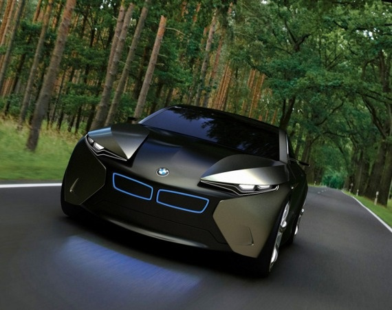 The all new BMW i-FD Concept like a fighter jet - cool