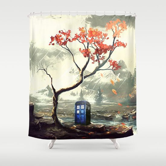 Tardis With A Tree - $68