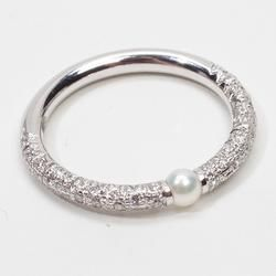 Magnificent Mikimoto Ring. pearls and Swarovski bracelet pulsera de perlas y Swarovski collar pulsera perlas swarovski joyeria necklace bracelet pearls crystal jewelry  http://iaguirreb.wix.com/deperlas#!blank-2/c1ger