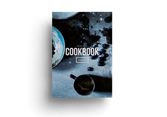 Cookbook Template by ADD+ on @creativemarket