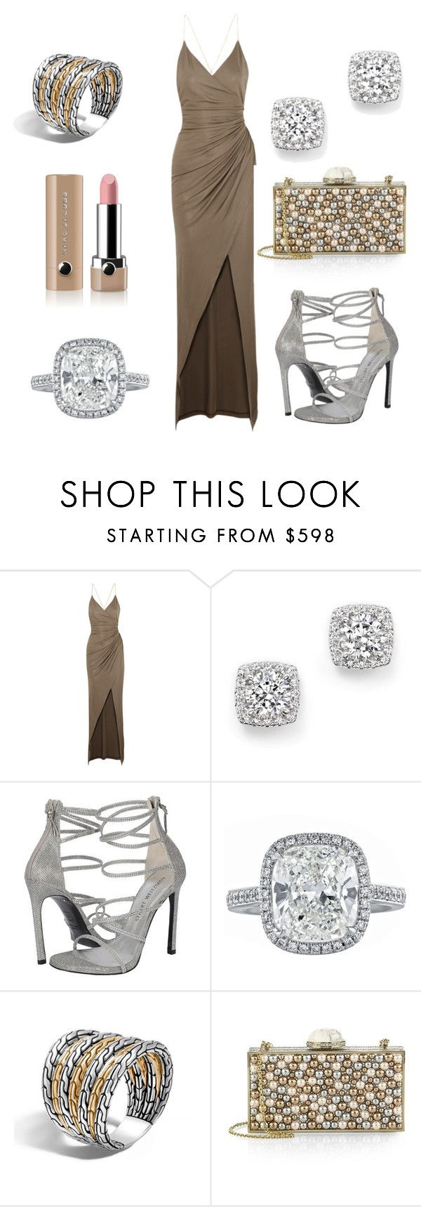 ГЛАМУР КЛУБНИКА by gala-bell on Polyvore featuring Balmain, Judith Leiber, Bloomingdale's, John Hardy, Marc Jacobs, women's clothing, women's fashion, women, female and woman