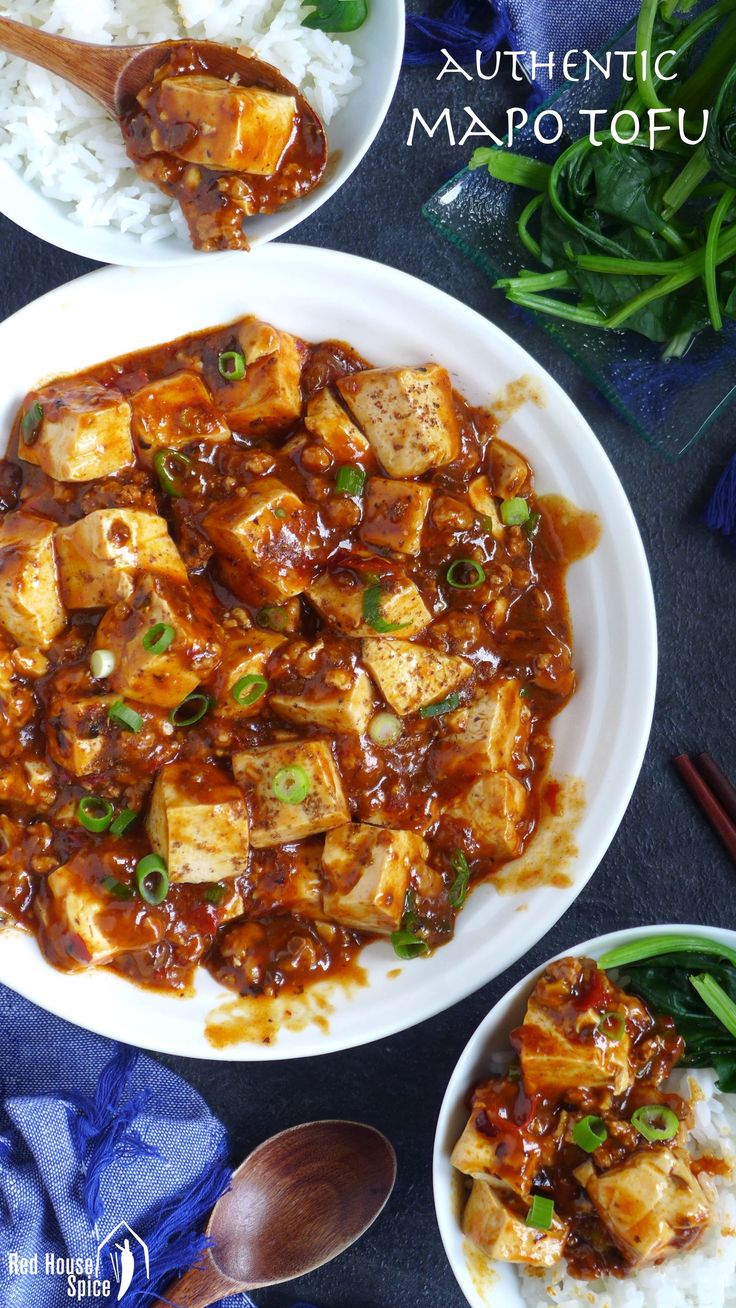Tender tofu cooked in an aromatic and spicy sauce, accompanied by minced meat, Mapo tofu is one of the most popular ways to prepare tofu in China.