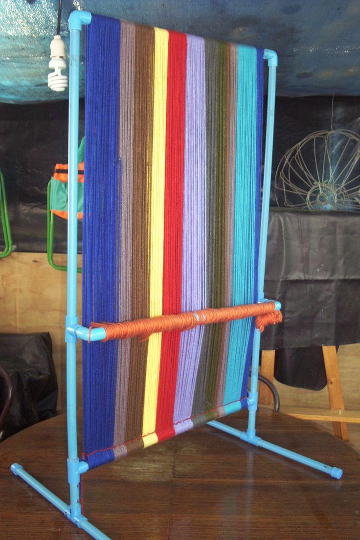 Telar tapiz en pvc - front