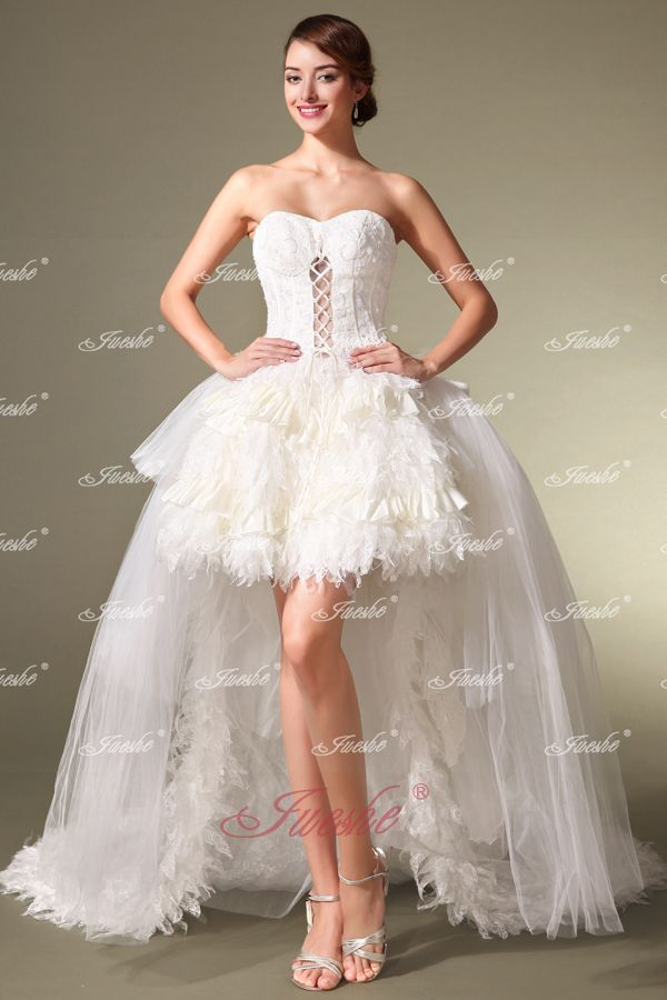 Corset style short wedding dresses | Fashion dress gallery
