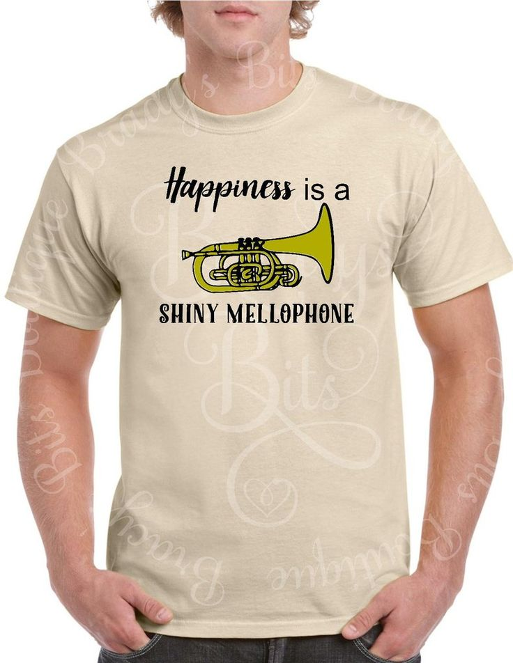 Happiness is a Shiny Mellophone T-Shirt