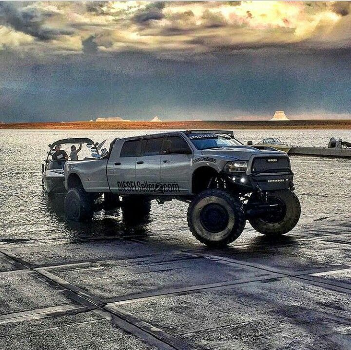 The Dodge Cummins Mega Ram Runner.... #epic