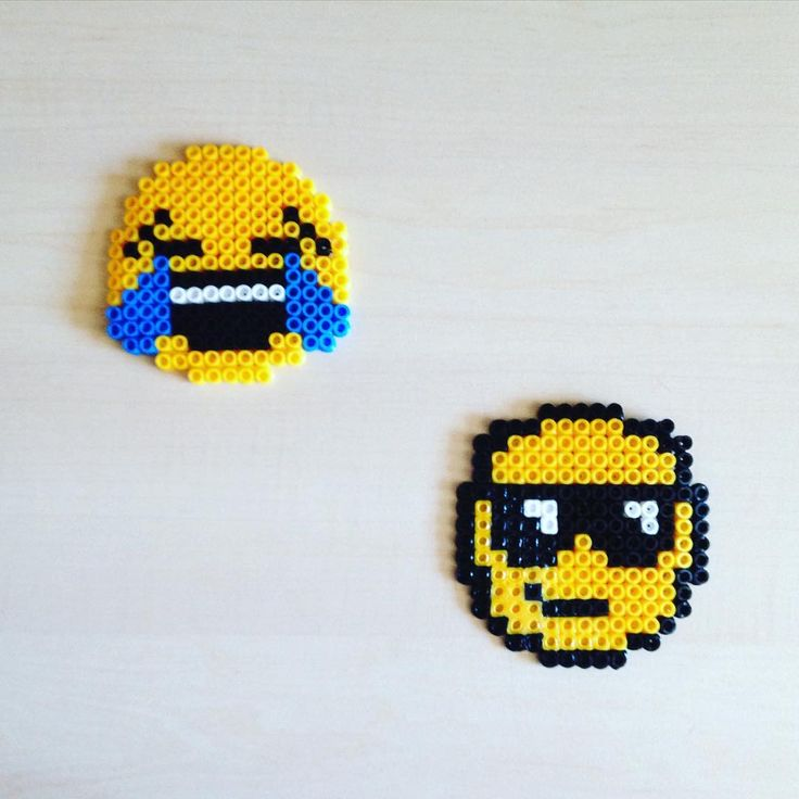 1000 images about hama trop cool on pinterest perler - Smiley perle a repasser ...
