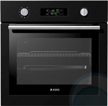 Asko Black 60cm Electric Wall oven