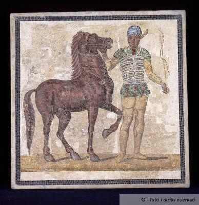 National Roman Museum - Palazzo Massimo alle Terme, met prachtige romaanse mozaïeken