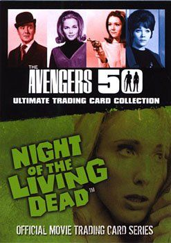 Avengers TV 50th Anniversary & Night of the Living Dead Promo Card @ niftywarehouse.com #NiftyWarehouse #NightOfTheLivingDead #Zombies #Horror #HorrorMovies #Movies #Zombie