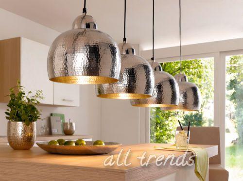 Deckenleuchte-Hammerschlag-Deckenlampe-modern-Aludesign-Beleuchtung-Haengeleuchte