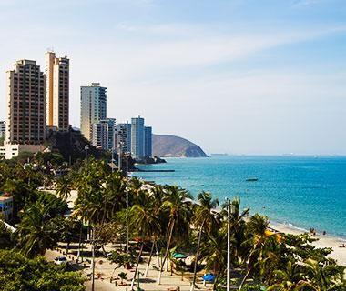 Santa Marta es la atracción turística en Colombia