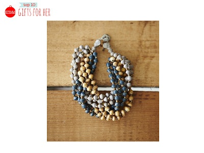 Watson Braid - Recycled paper beads, made by Women in Uganda