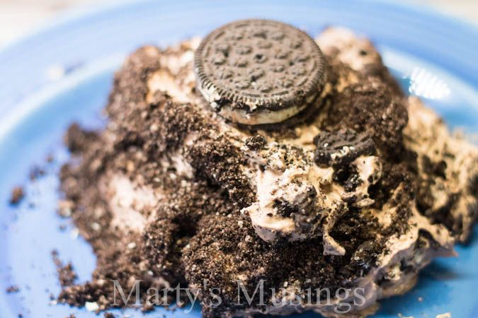 i need to come up with an all-homemade version of dirt dessert (aka dirt cake)