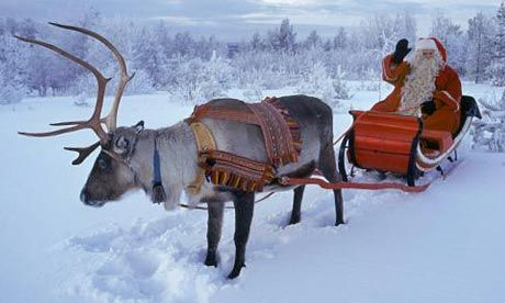 Lapland, Finland. I want to go and see Santa!