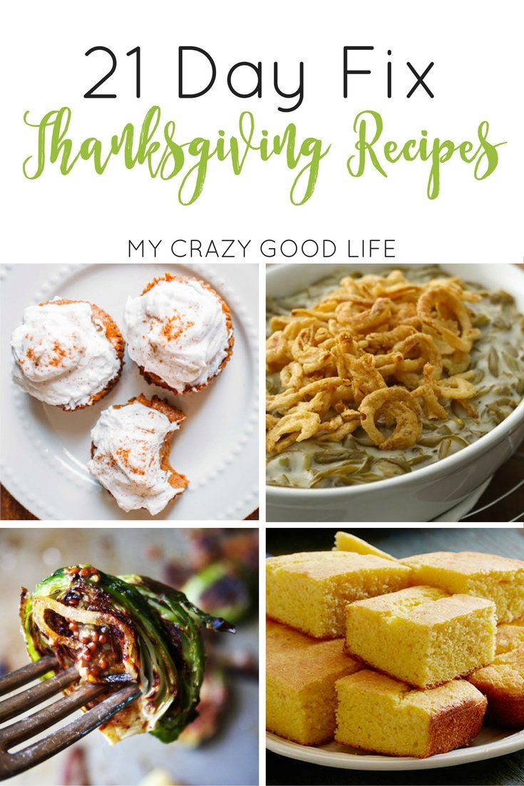 It can be difficult to make it through the holidays with your diet in tact. These 21 Day Fix Thanksgiving Recipes will help those of you on the plan succeed.