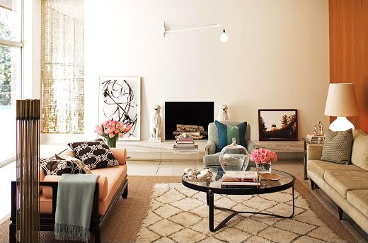 Gorgeous room: Spaces, Living Rooms, Moroccan Rugs, Color, Fireplaces, Interiors Design, Memorial Tables, Interiordesign, Peaches