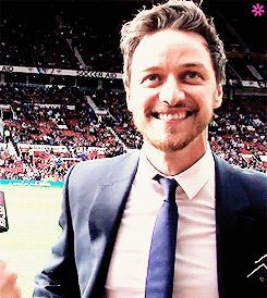 Oh, James. (magnet-and-wheels: James McAvoy + His Tongue...)