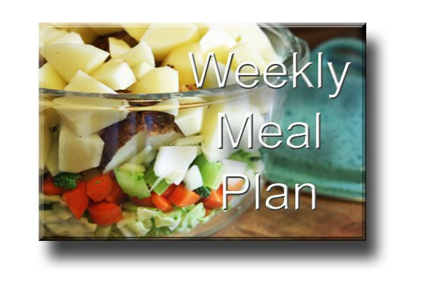Healthy Weekly Meal Plan for 70-80% Raw Food Diet