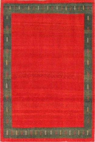 Red Exquisite Gabbeh Wool Rug GB-03 $222.00