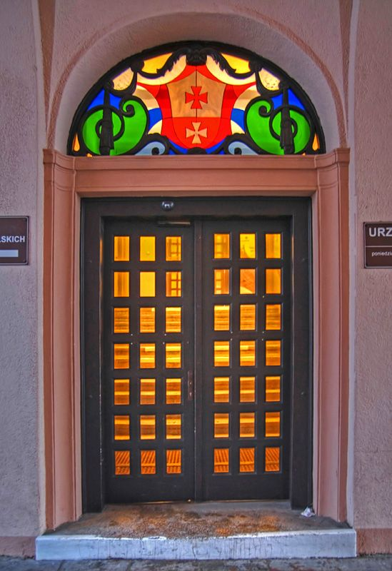 Doors, Elblag, Poland. #entrance #building #portal