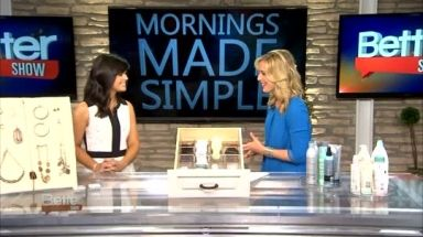 Expert organizer Amanda LeBlanc helps us make the most of the morning with easy organizational tips.