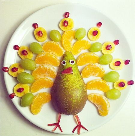 Play With Your Food: Food Art on Forbidden's Blog - Buzznet