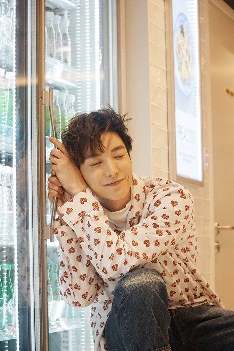"Super Junior's Leeteuk Models for ""The Celebrity"" at SM's SUM Market 