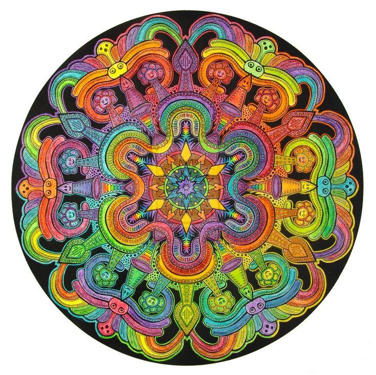 Мандалы: значения цветов в сакральных символах | Школа Юлии Снеговой