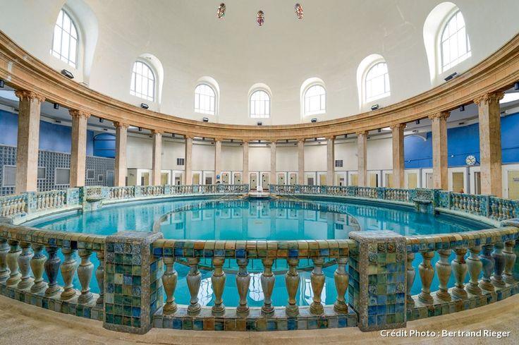 La piscine ronde de Nancy Thermal