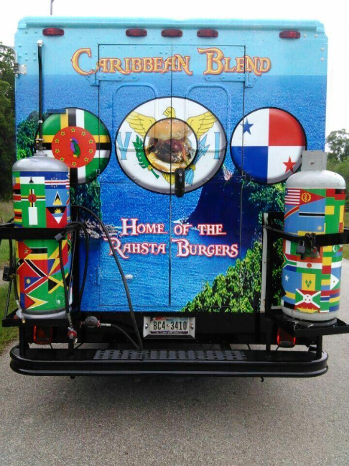 Caribbean blend food truck food truck caribbean blend