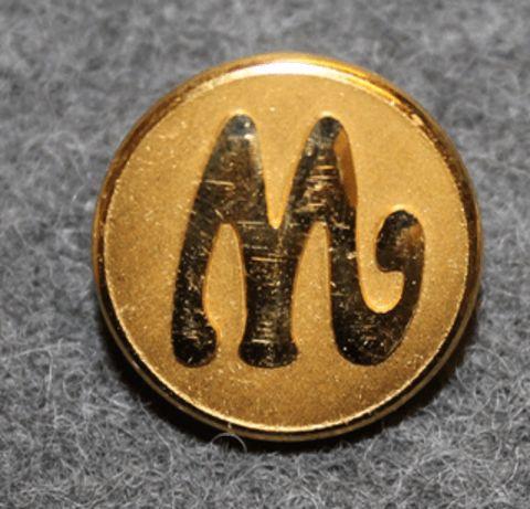 Marabou, chocolate manufacturer, 16mm gilt