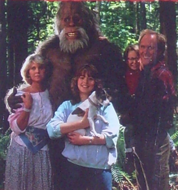 Harry and the Hendersons, Sasquatch Movie, Bigfoot Movie, Yeti, Yowie, Meh-Teh, John Lithgow, Fun Family Movie, Whole Family Entertainment by HeyJudeCollection on Etsy