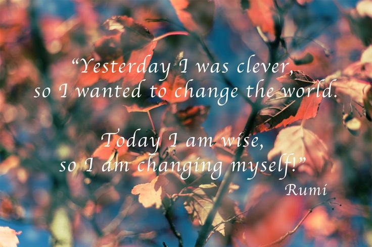 [charnette.se] Wednesday Words: Clever by Rumi #quote #quotes #wisdom #rumi