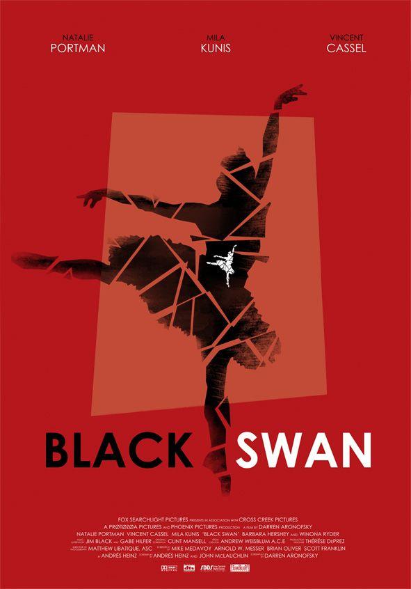 Black Swan - movie poster - Ollie Boyd