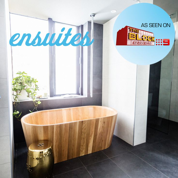 """A huge congratulations to Simon and Shannon on The Block for their winning ensuite last night. The """"simple, quality"""" space made excellent use of our Rio Limestone and Metropol Strong Grey tiles. Check out all the tiles from the ensuites on our website at http://www.beaumont-tiles.com.au/TheBlock/Ensuite.aspx"""