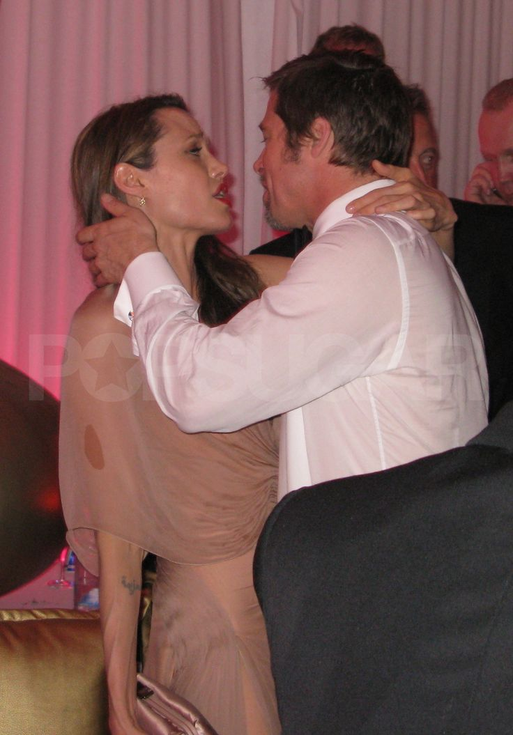 Brad and Angelina Lead the Afterparty Parade