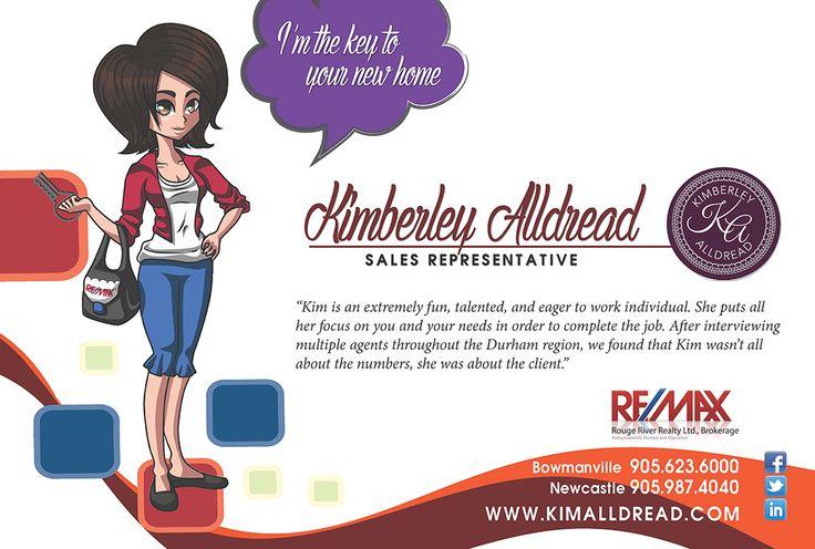 Ad design for Kimberley Alldread