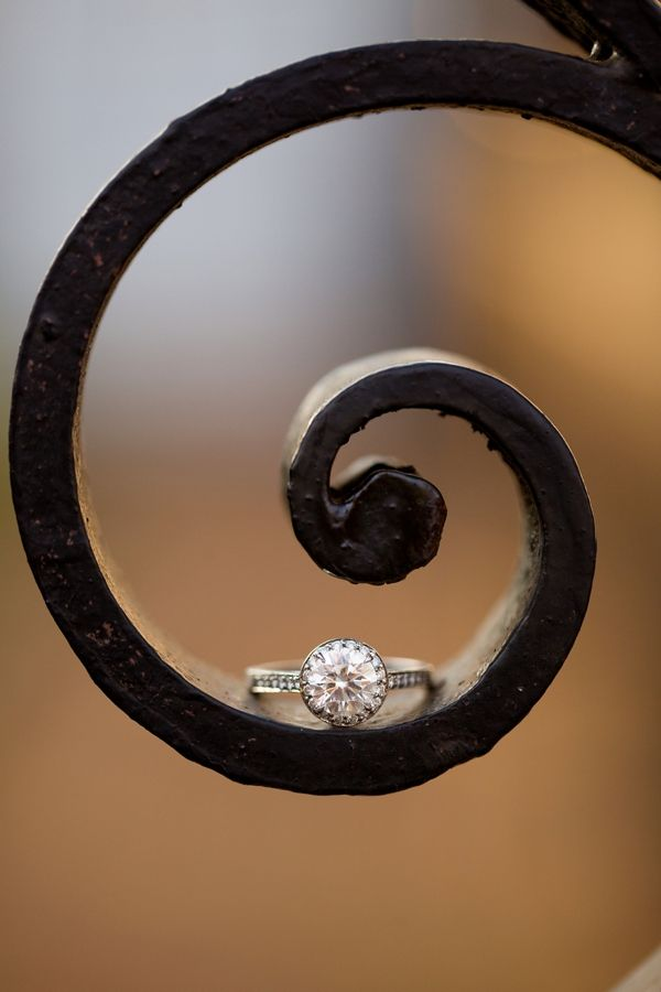 engagement ring photography is an art!! photo by Katelyn James Photography