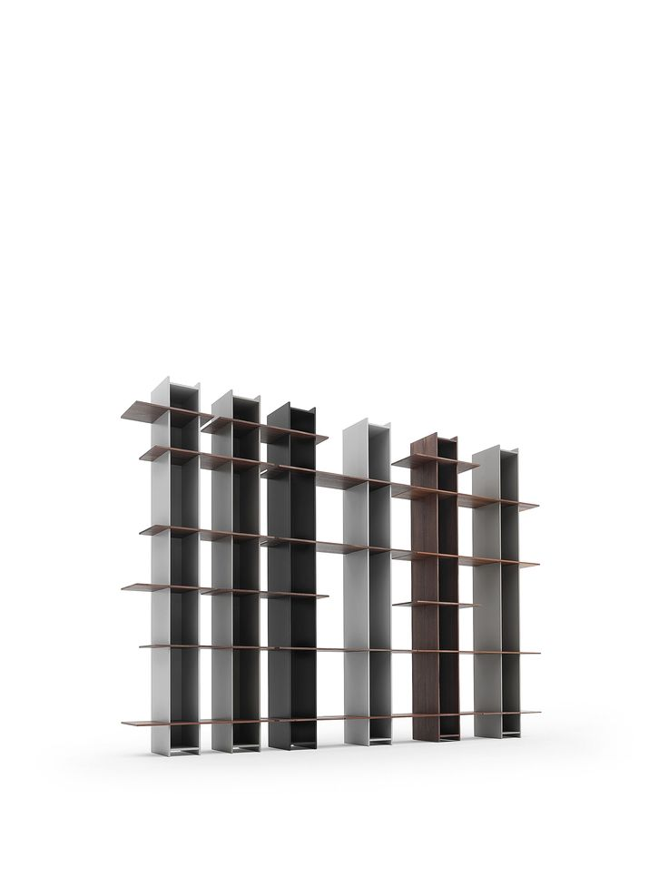 Joint, bookshelves withouten screws by Sculptures Jeux